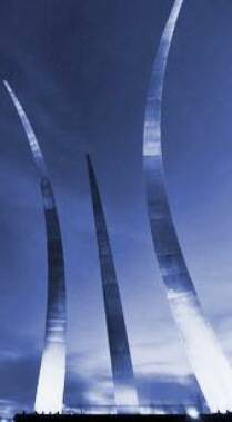 Air Force Memorial in Arlington, VA